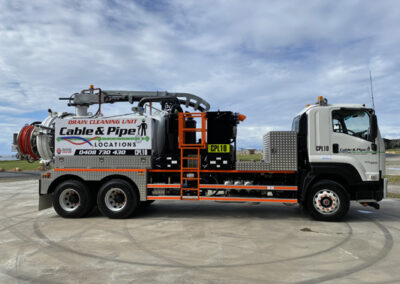 Cable And Pipe Hydro Vacuum Excavation