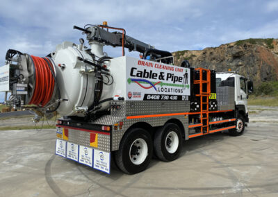 Cable And Pipe Vac Truck
